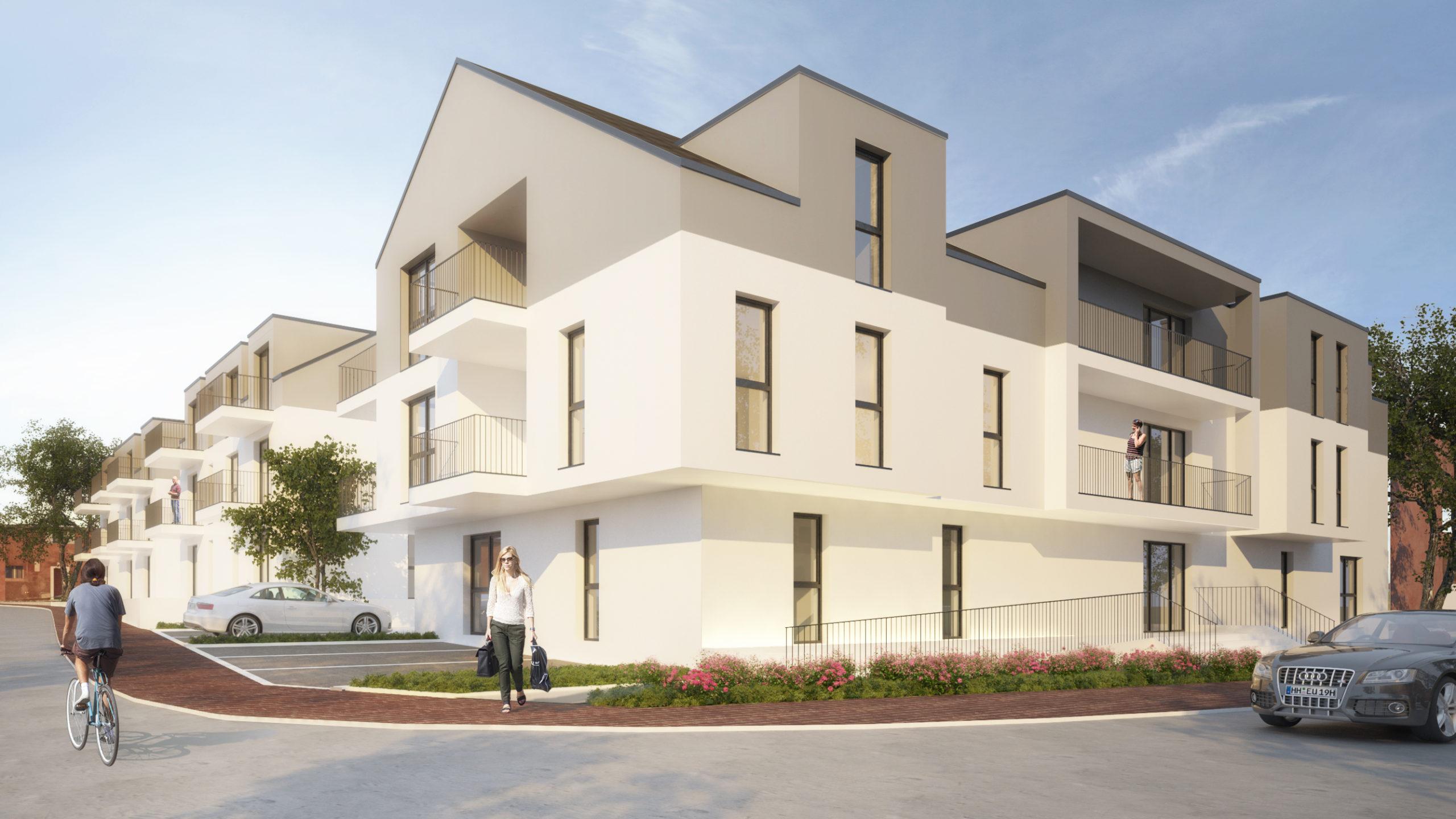 Wohnanlage Gerberweg, Morbach Neubau Visualisierung