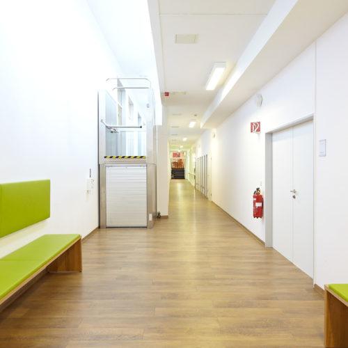 Elfenmaar-Klinik Flur