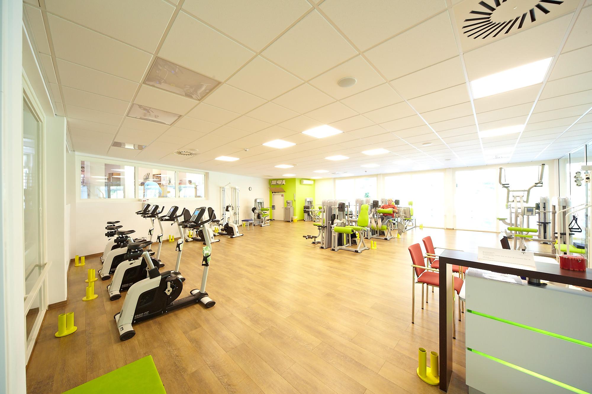 Elfenmaar-Klinik Fitnessbereich
