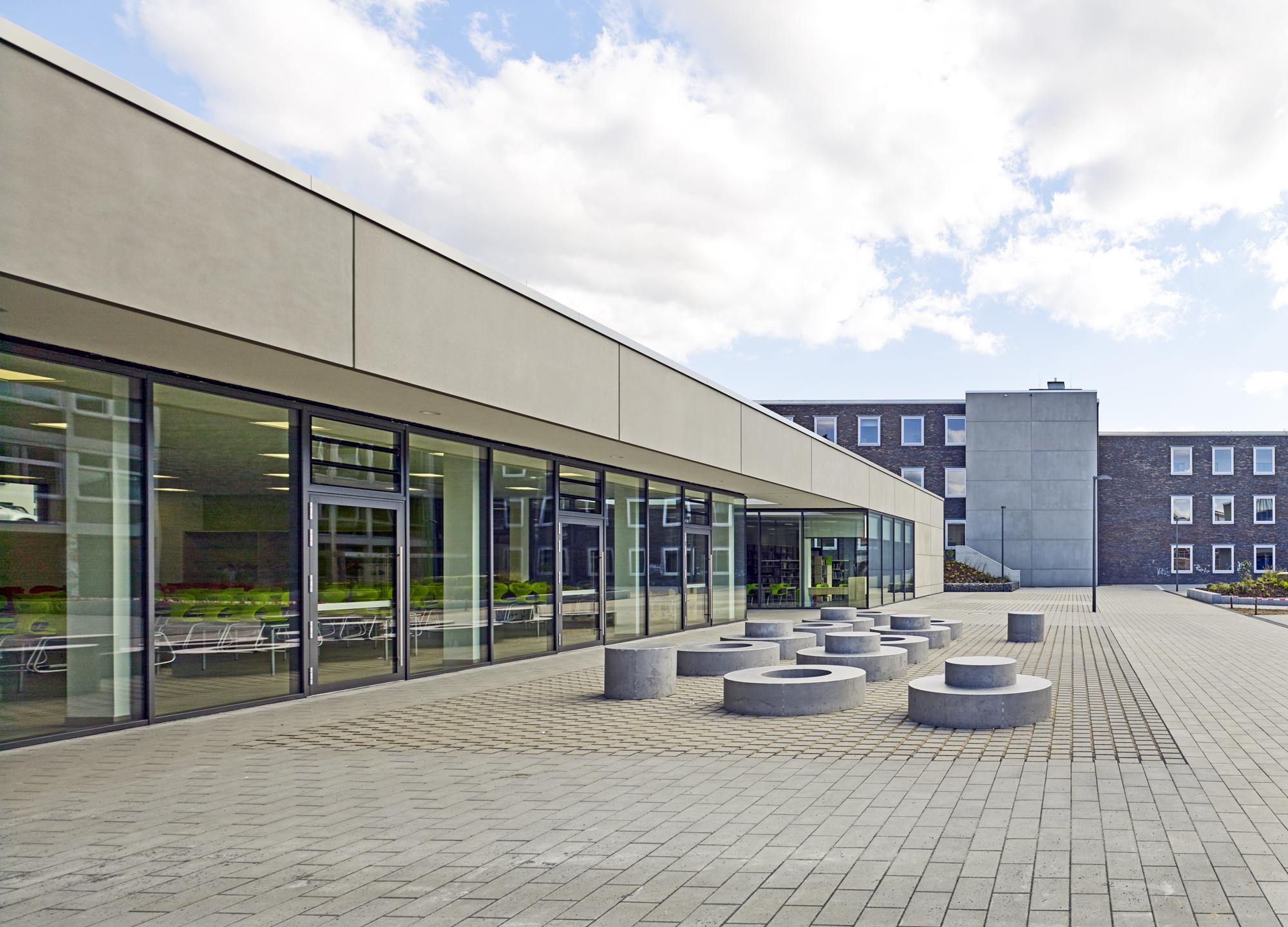 Cusanus Gymnasium Wittlich Neubau Mensa