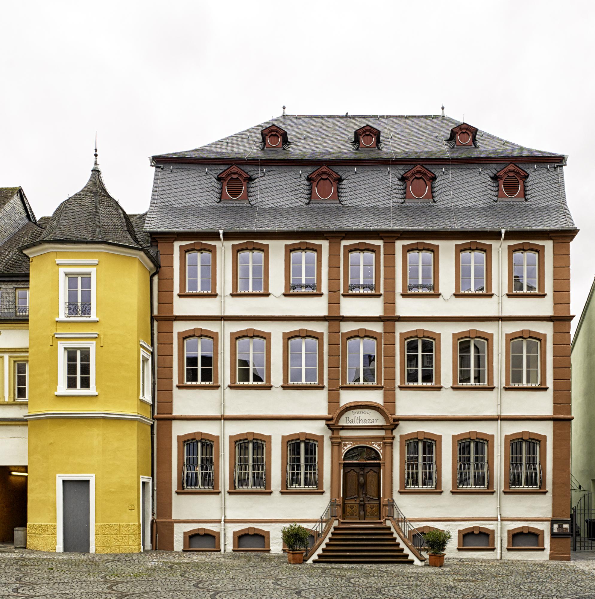 Thurn und Taxis Gebäude, Wittlich Revitalisierung Vorderansicht