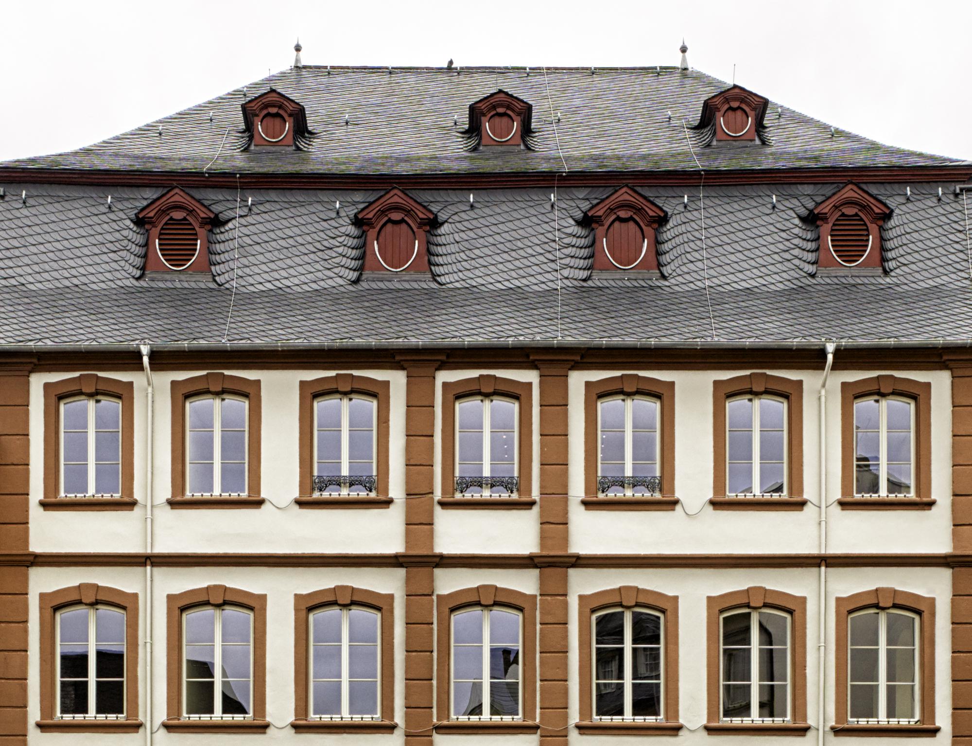 Thurn und Taxis Gebäude, Wittlich Revitalisierung Front Fenster