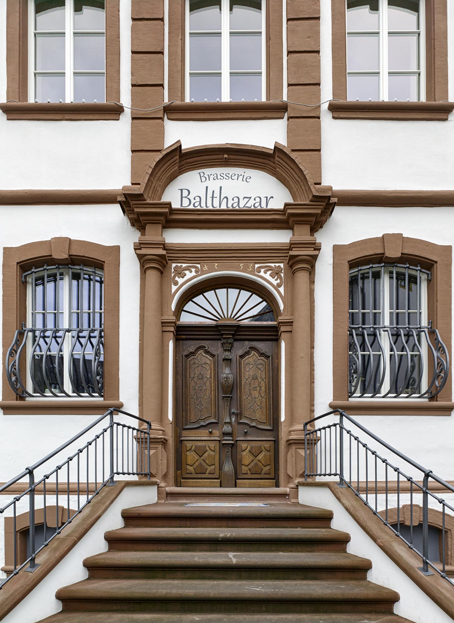 Thurn und Taxis Gebäude, Wittlich Revitalisierung Haupteingang