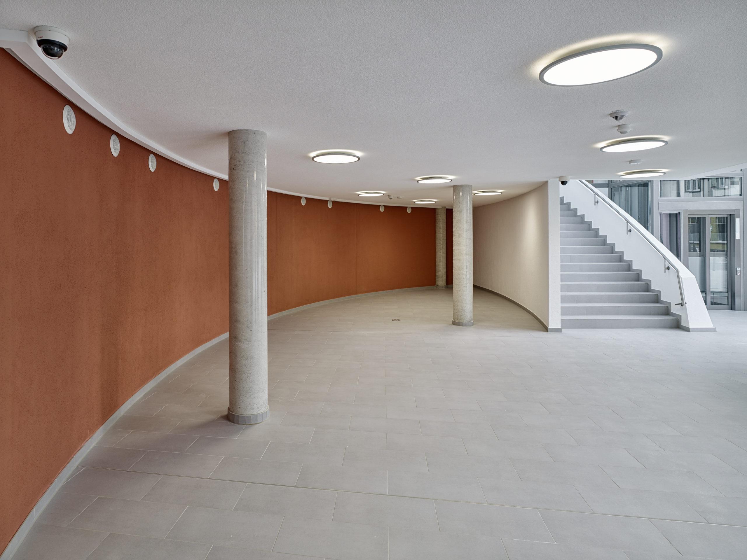 Sparkasse Cochem Flur / Eingangsbereich