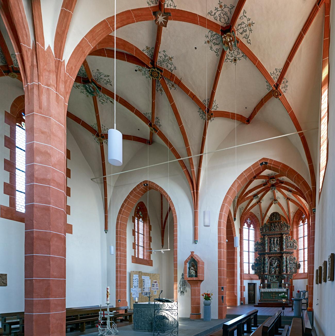 Kirche Mater Dolorosa, Driesch Sanierung Innenansicht