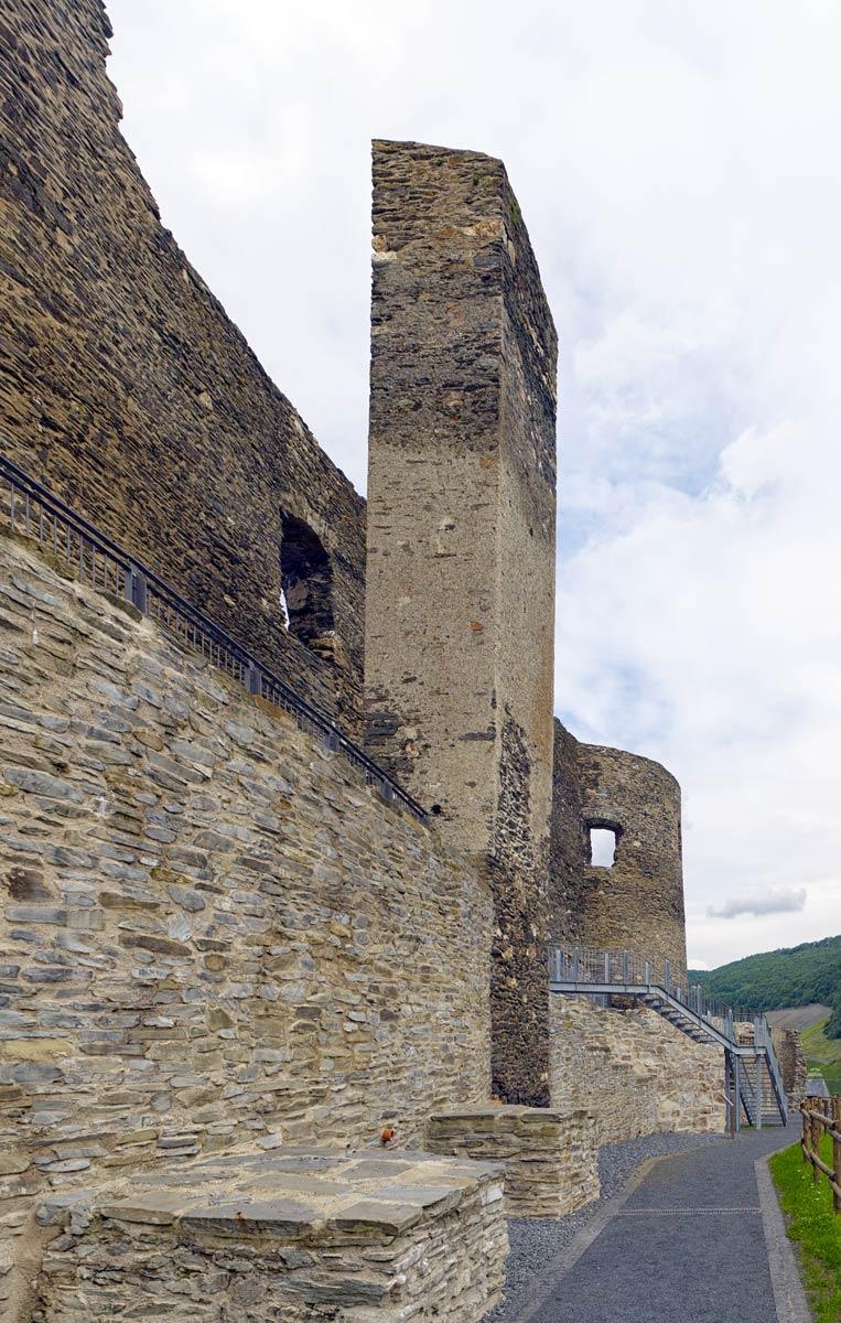 Burg Landshut Bernkastel-Kues Fassade
