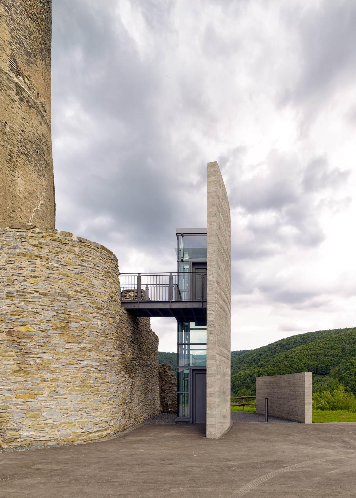 Burg Landshut Bernkastel-Kues Fahrstuhl