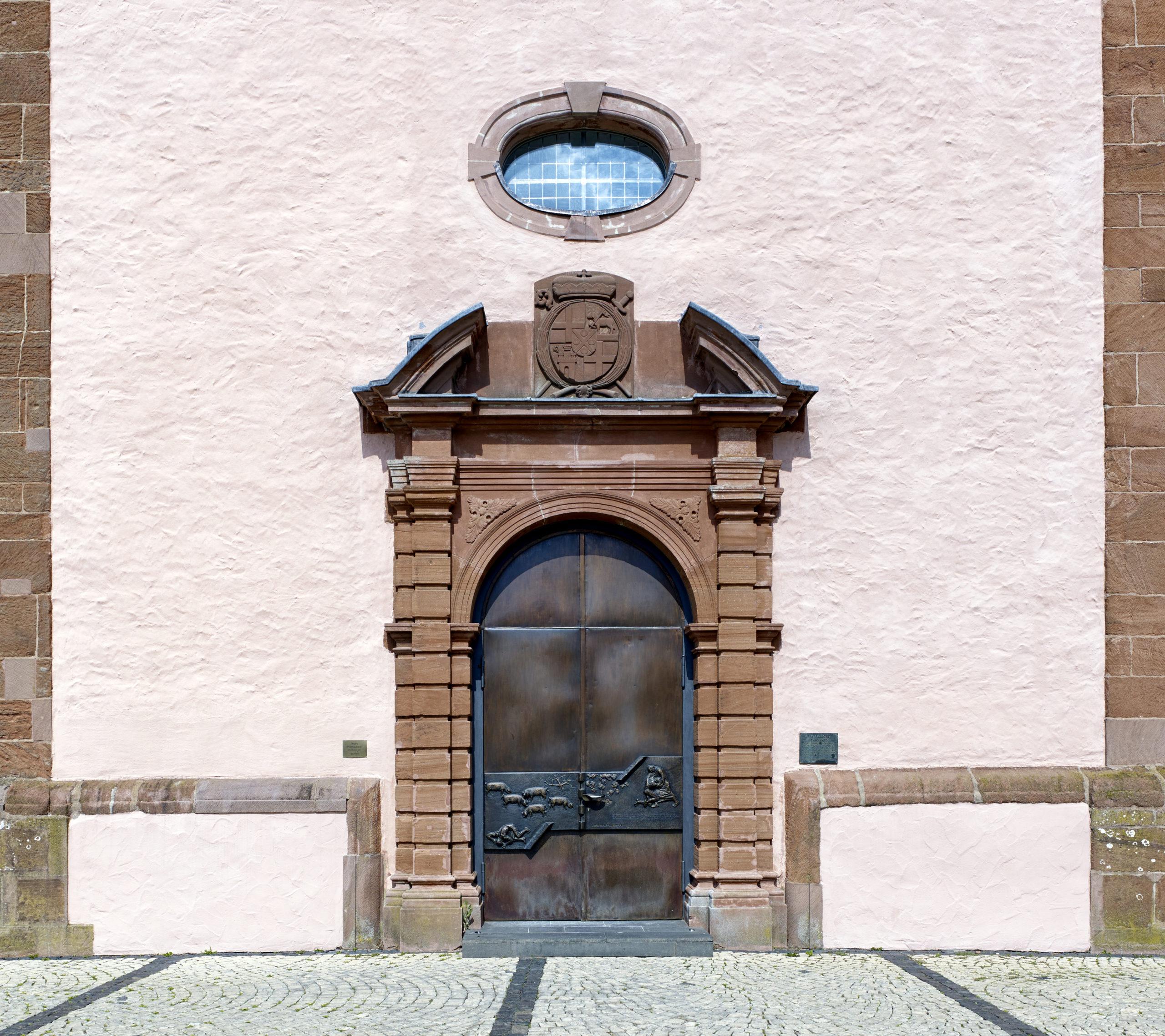 Eingang Kirche St. Markus - Wittlich