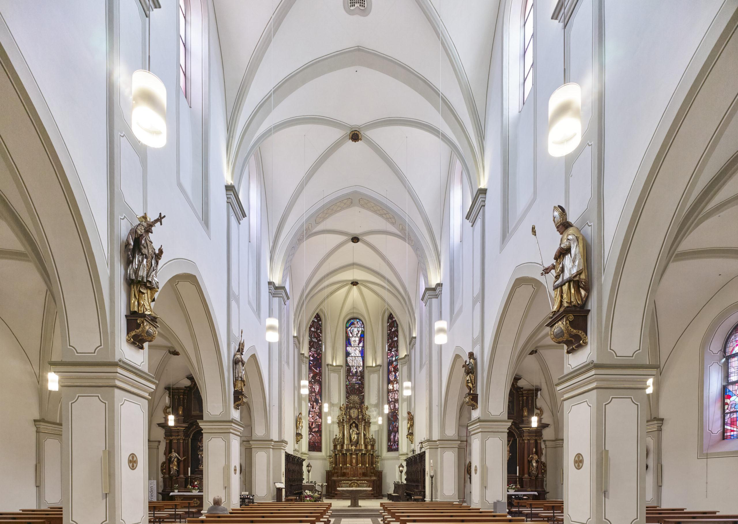 Innenraum Kirche St. Markus in Wittlich