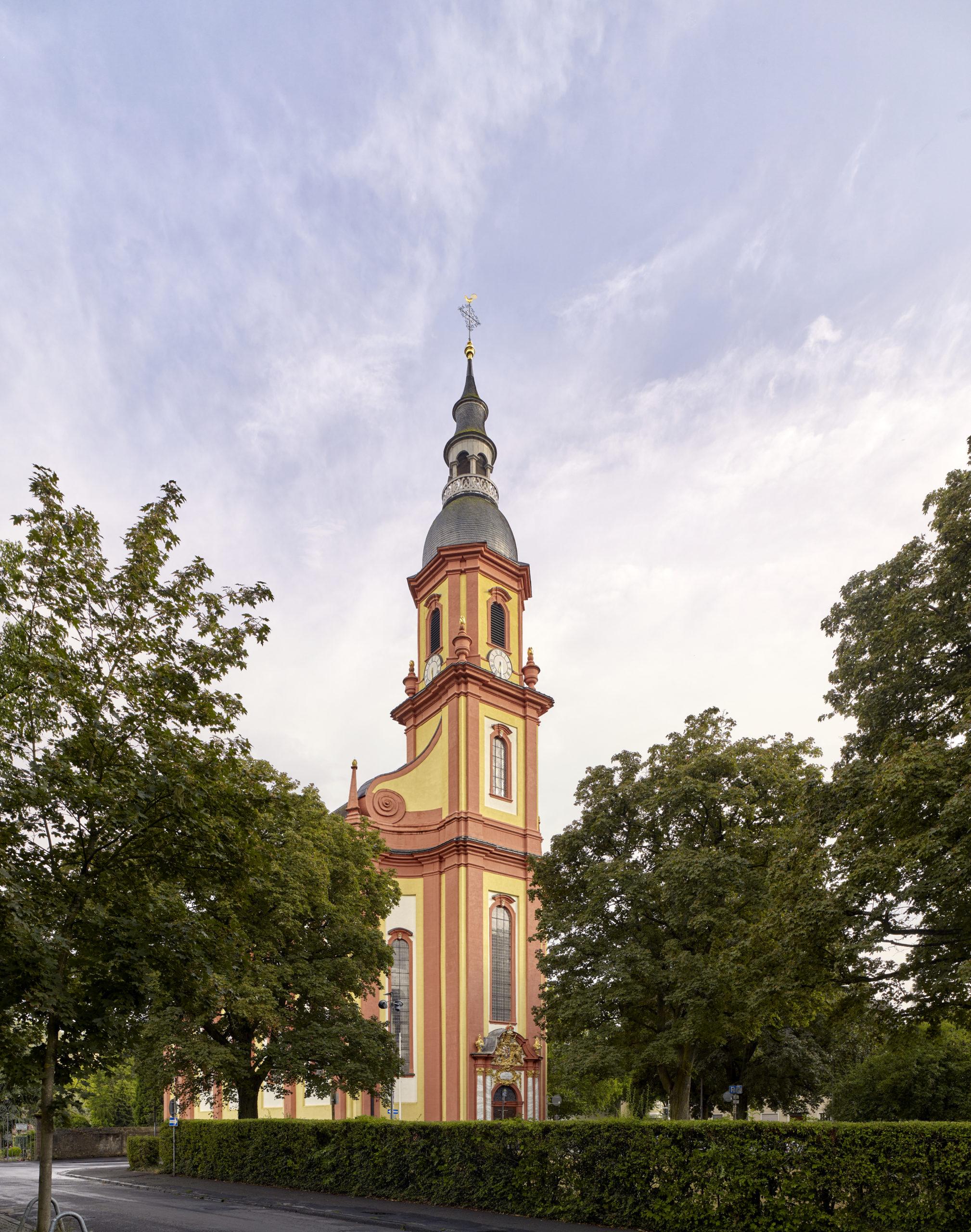 Kirchturm St. Paulin in Trier