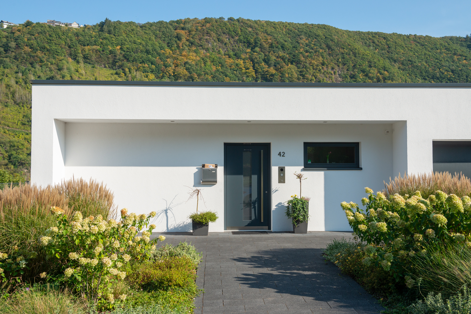 Eingang Wohnaus in Traben-Trarbach