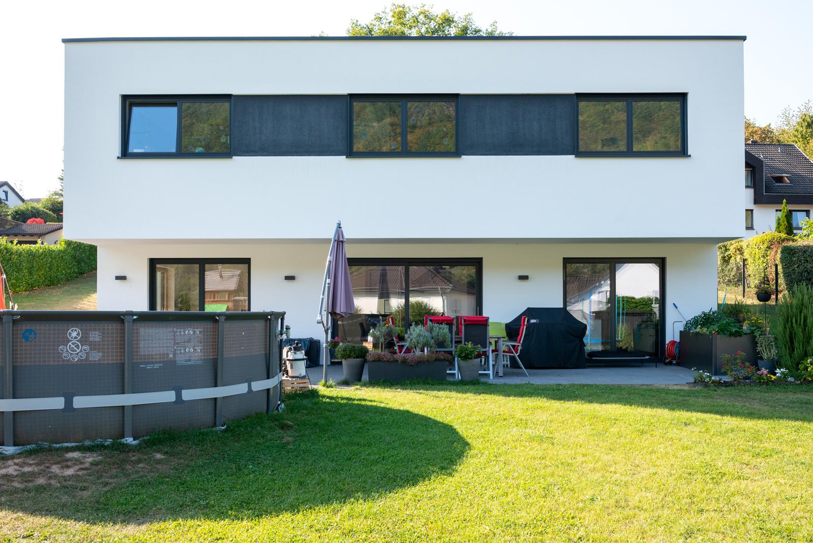 Rückseite Wohnhaus Traben-Trarbach