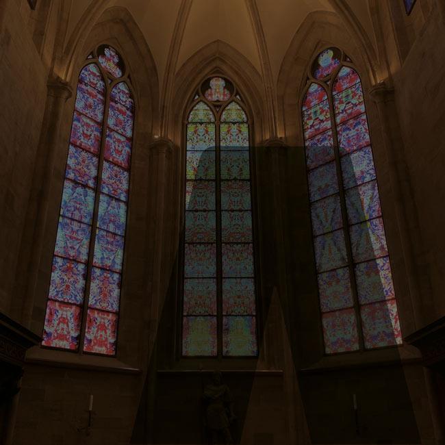 Berdi Architekten Sanierung Kirche Tholey Richter-Fenster
