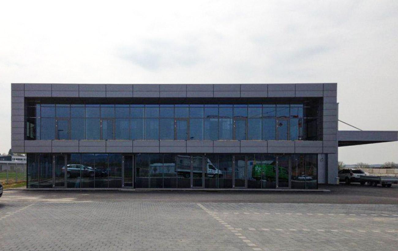 Verwaltungsgebäude, Backnang Neubau
