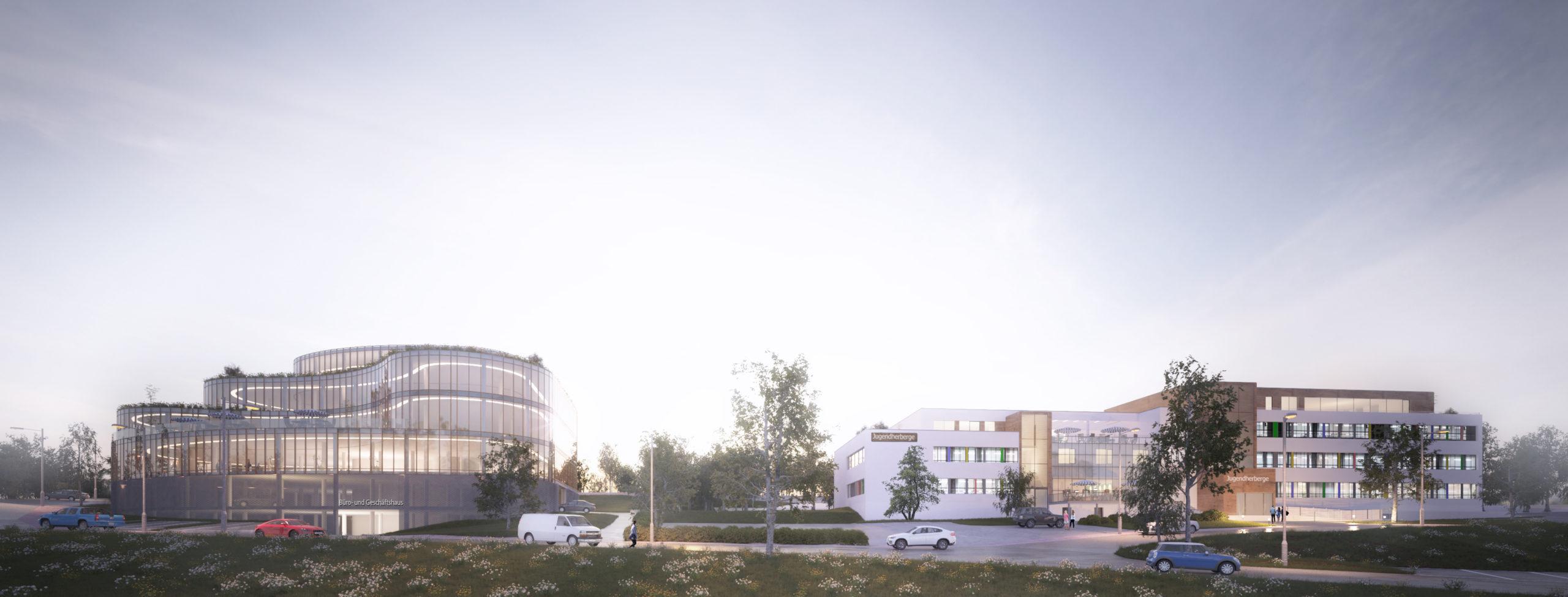 Bürogebäude und Jugendherberge Bernkastel-Kues