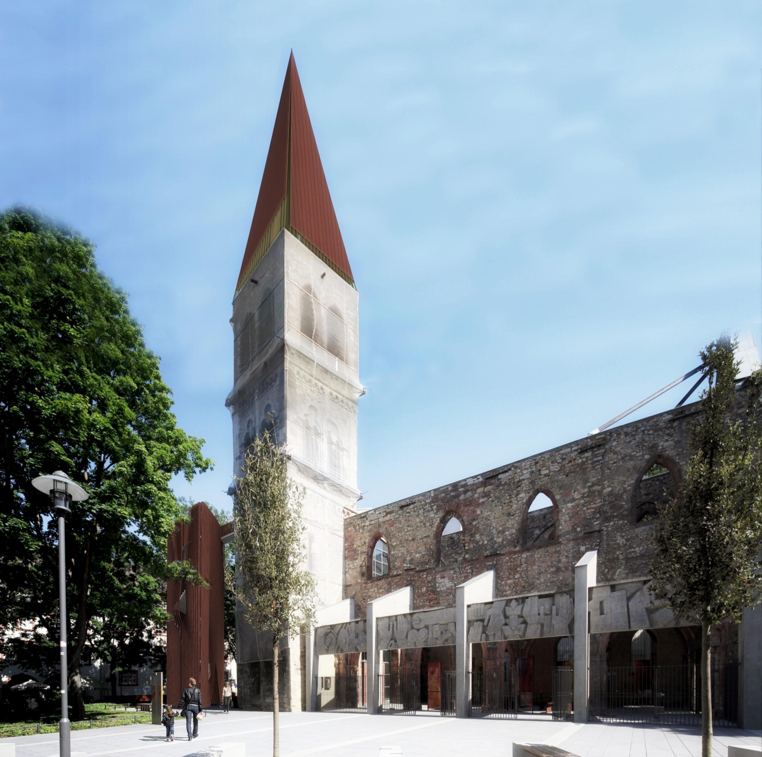 Gedenkstätte St. Christoph, Mainz Sanierung